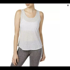 NEW Ideology women Large grey /Orange activewear